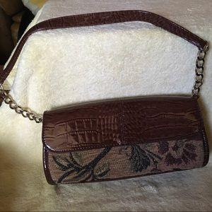 Liz Claiborne Small Tapestry Bag